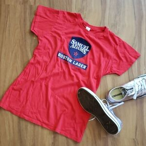👑 2 for $13 👑 SAMUEL ADAMS Graphic Tee Large